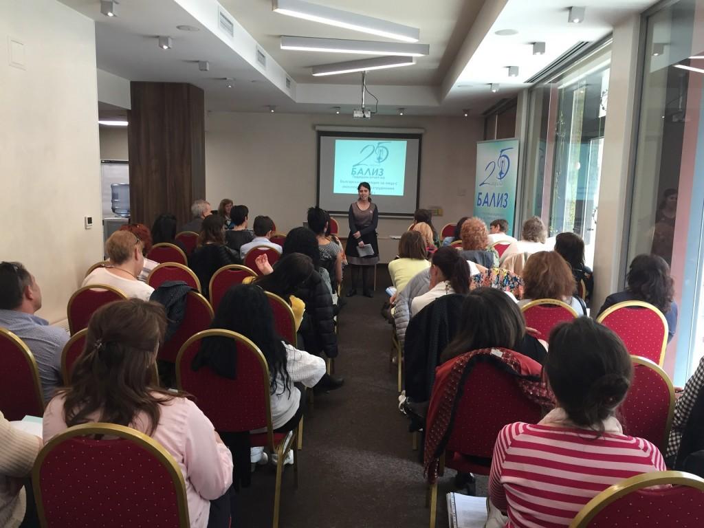 Бализ Мариета Петрова - Националната платформа на самозастъпниците към БАЛИЗ